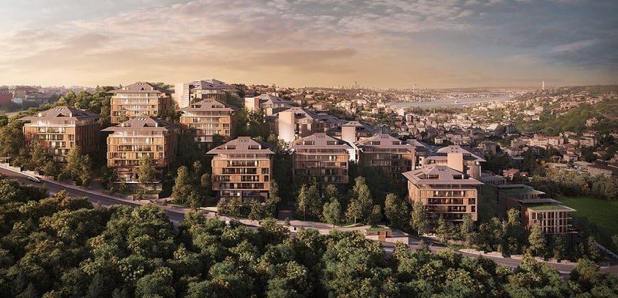 شهرک در اسکودار استانبول